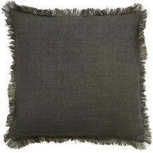 Capella Fringe Cushion Stone