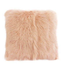 Goat Fur Cushion Rose Water