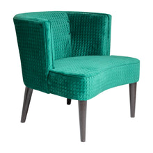 Pittsburgh Chair Green Quilted
