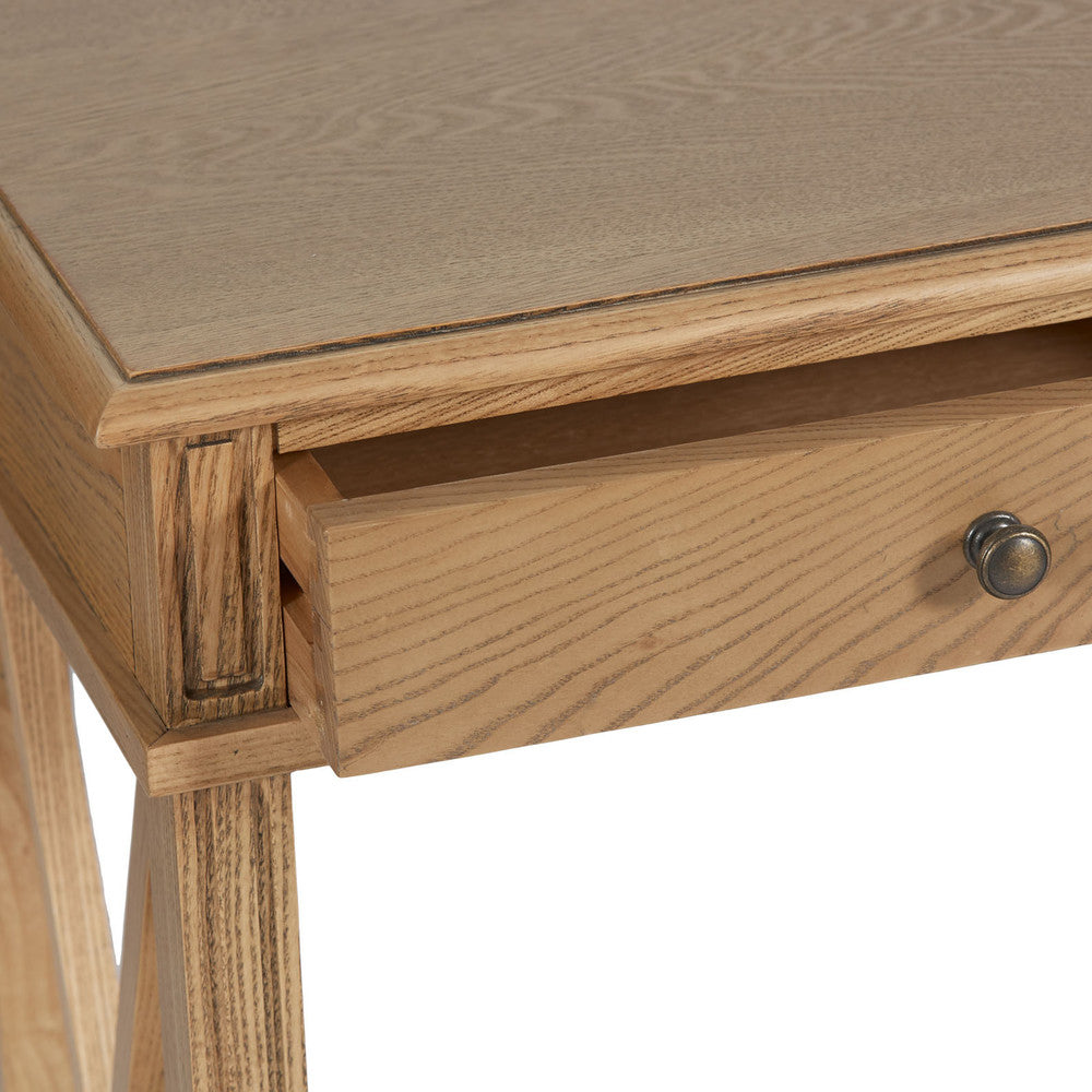 Manto Large Bedside Table Elm