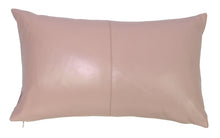 Nappa Leather Cushion Blush