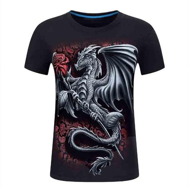 Brand Men 3D T Shirt Plus Size 6XL Hip Hop T-shirt Mens Funny T Shirts Camiseta Animals Print Tee - SolaceConnect.com