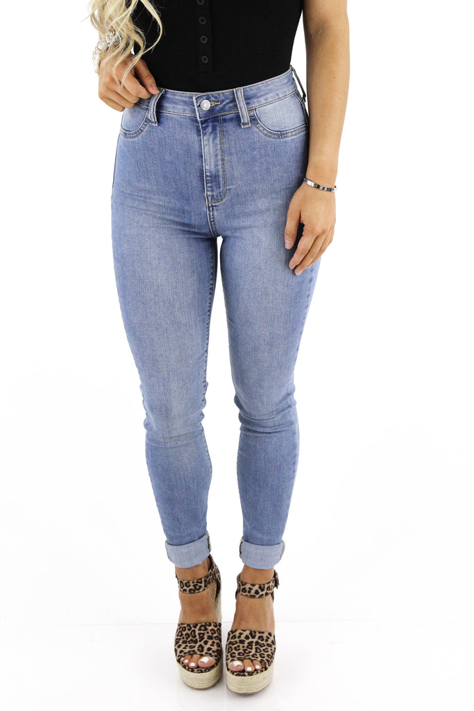 With Pride High Rise Super Skinny Jeans