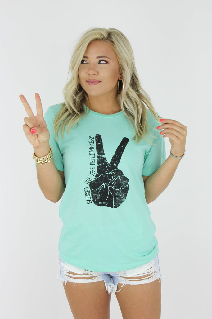 Blessed Are The Peacemakers Graphic Tee