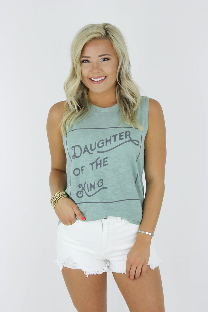 Daughter Of The King Graphic Tank