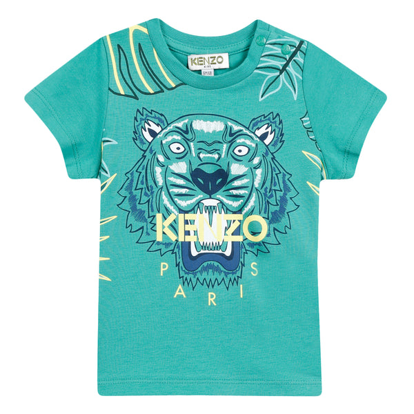 Boys Menthol Cotton T-shirt