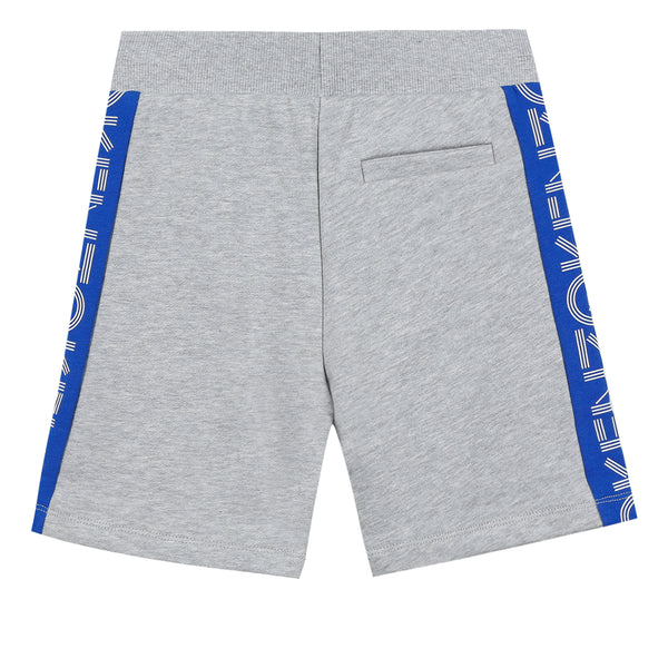 Boys Marl Grey Cotton Shorts