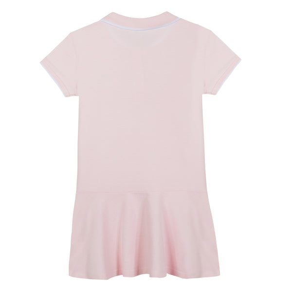 Girls Light Pink Cotton Dress