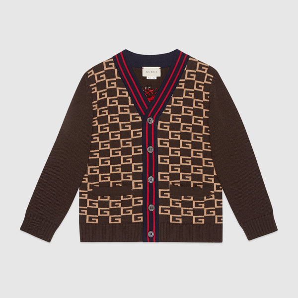 Boys Brown Cardigan