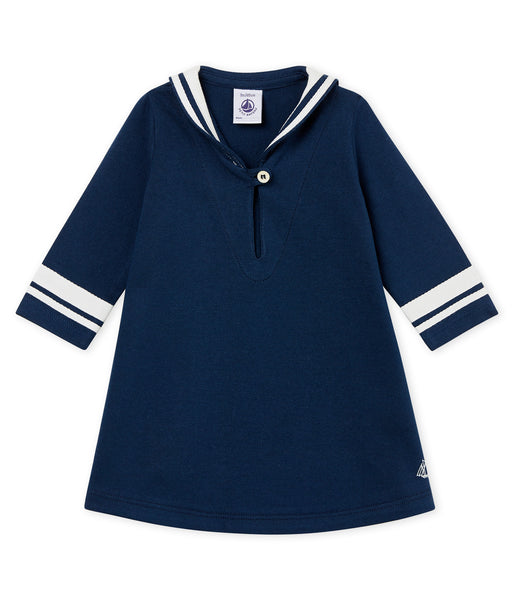 Baby Girls Blue Cotton Top