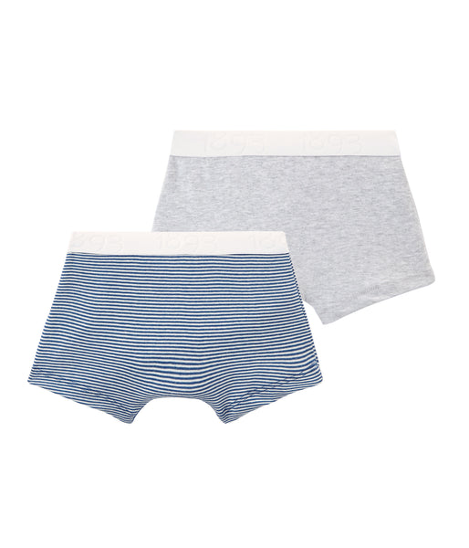 Boys Blue & Grey Underwear Sets