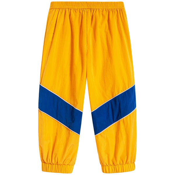 Baby Boys Yellow & Blue Trousers