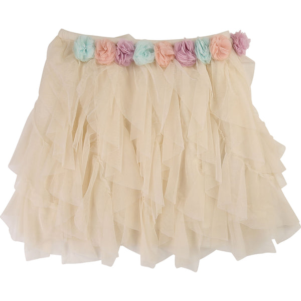 Girls Rice Flowers Skirt