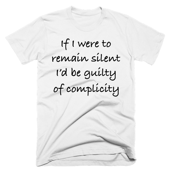 If I Were To Remain Silent | Unisex White T-Shirt | Eternal Weekend - 1
