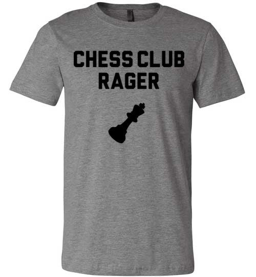 Chess Club Rager T-Shirt | Unisex Gray T-Shirt | Eternal Weekend - 3