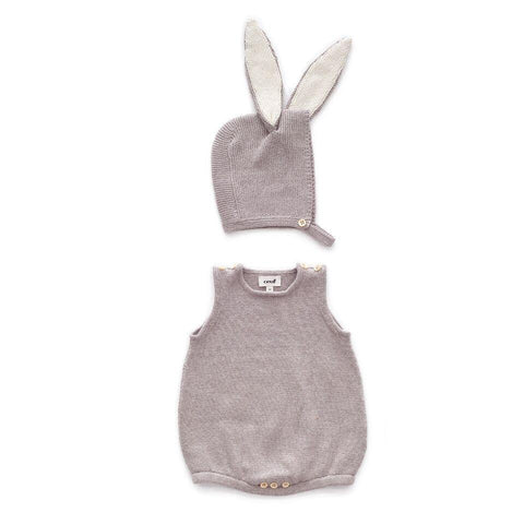 Bunny Set in Light Grey