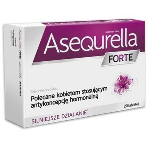 Asequrella FORTE 20 Cover With Hormonal Contraception