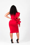 True Beauty Dress (Red)