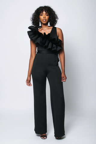 Estelle Jumpsuit (Black)