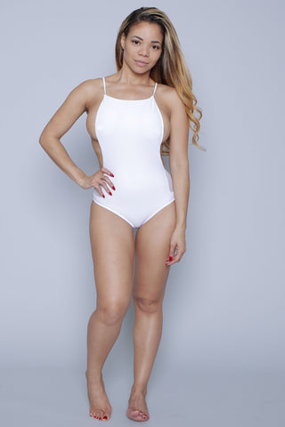 Ava White One piece