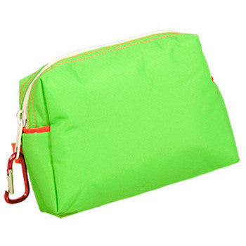 Itsy Bag - Lime Polka Dot - Moonbeam Baby