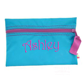 Cosmo Bag by Mint <br> Aqua & Hot Pink