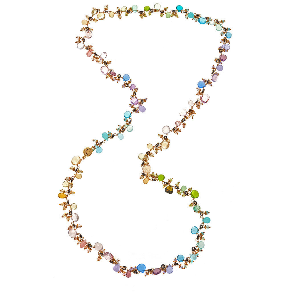 Tashka Gemstone Necklace