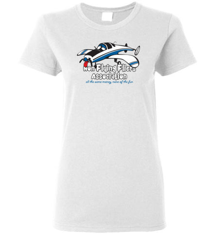 Race 53 Non Flying Fliers Association T-Shirt (Short Sleeve) Ladies