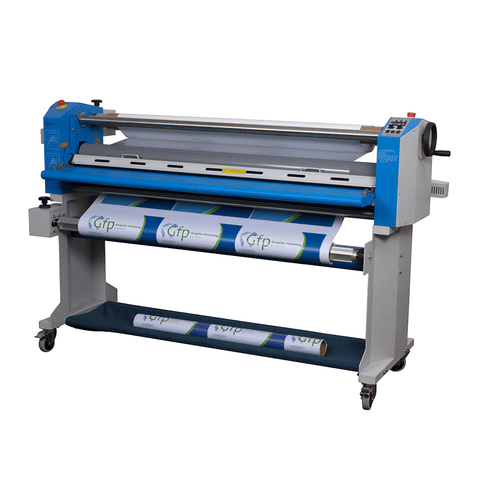 "Gfp 563TH-3 63"" Top Heat Laminator (Swing Shafts and Stand Included)"