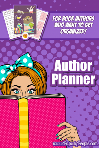 Authors Planner, Research, Plan, Scope Out Your Book, Track Sales & Promos