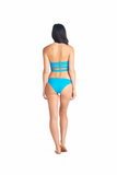 Ocean colored swimsuit Katsu style. Stylish and trendy for your luxury vacations