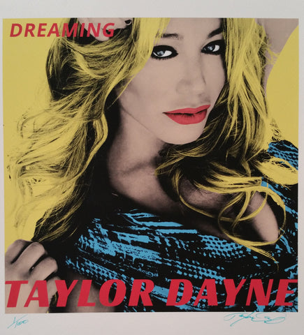 Taylor Dayne - Dreaming (signed print)
