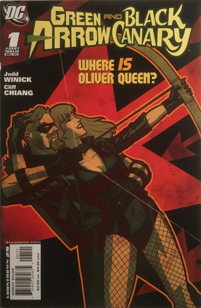 GREEN ARROW AND BLACK CANARY # 01 (1:10 VARIANT)