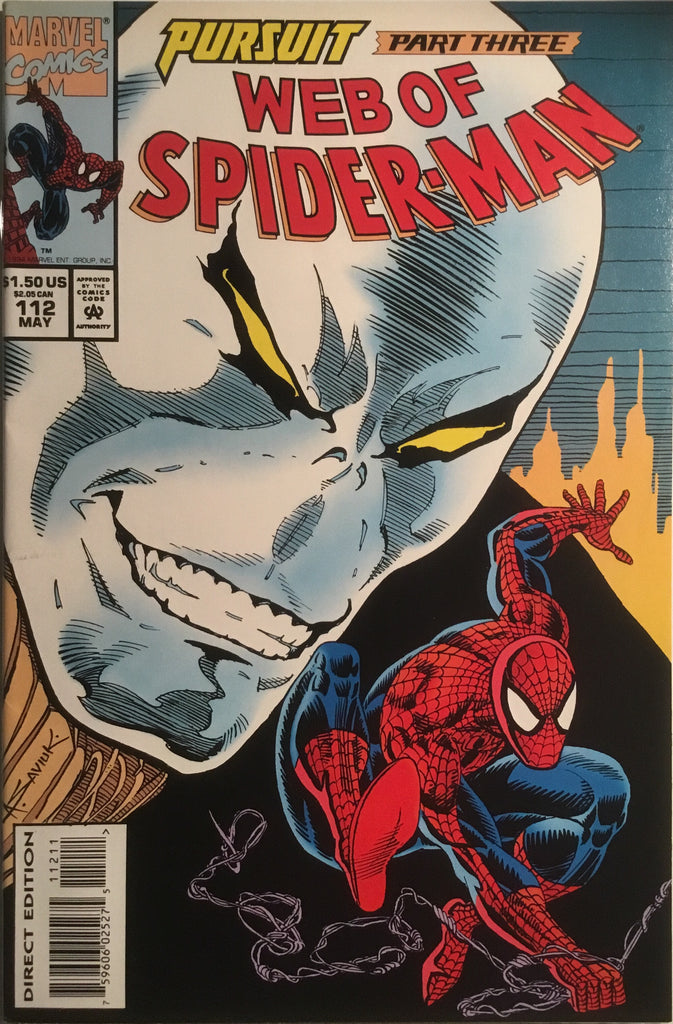 WEB OF SPIDER-MAN #112