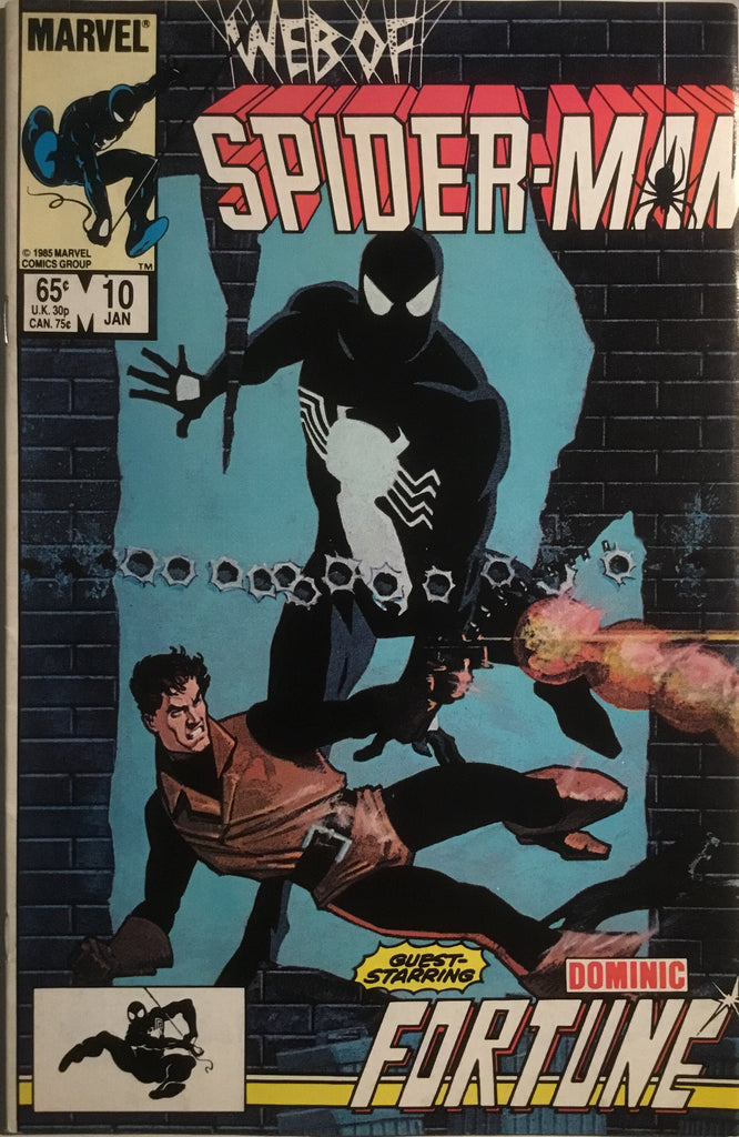 WEB OF SPIDER-MAN # 10
