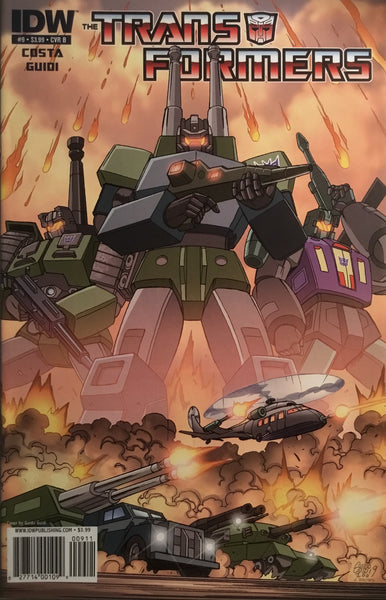 TRANSFORMERS # 9 (COVER B)