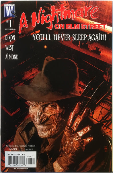 A NIGHTMARE ON ELM STREET # 1 (1:10 VARIANT) - Comics 'R' Us