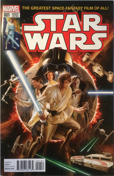 STAR WARS (MARVEL) # 1 ALEX ROSS 1:50 VARIANT COVER