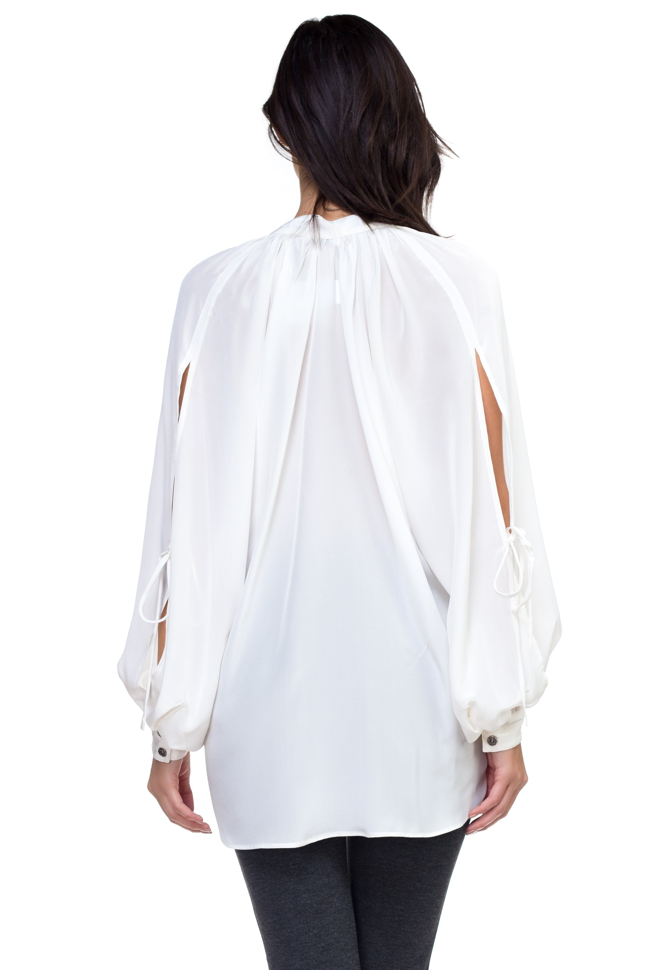 Isabella - Casual Silk Blouse