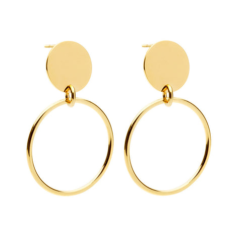amber sceats 'harley' earrings - gold