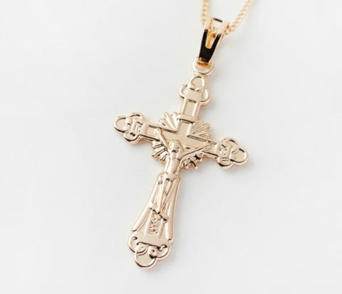 Reliquia Gold Cross Pendant
