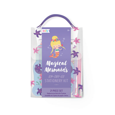 ON-THE-GO STATIONERY KIT - MAGICAL MERMAIDS