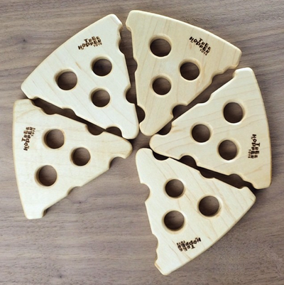 Wooden Pizza Teether