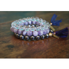 Gemstone Beaded Mala Stack Bracelet