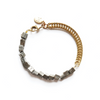 Two Part Pyrite Bracelet