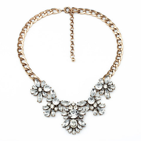 Andrea-Floral-Crystal-Statement-Necklace-Navyaonline-1