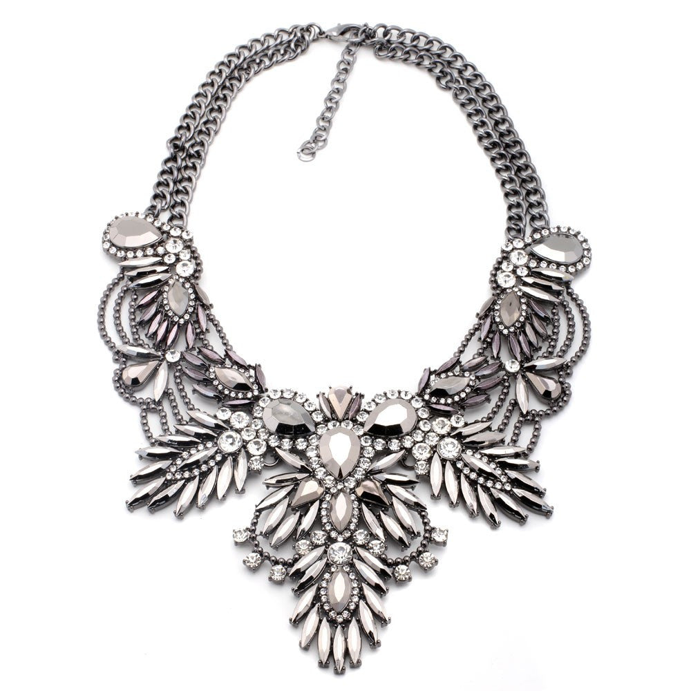 Angelic Dream Antique Statement Necklace - Navya