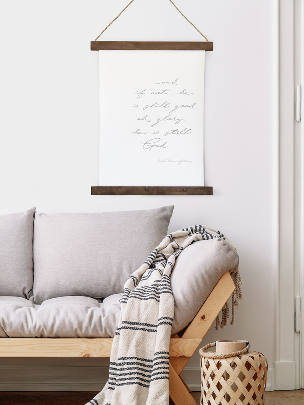 Canvas Hanging Print - He Is Good [CLOSEOUT]