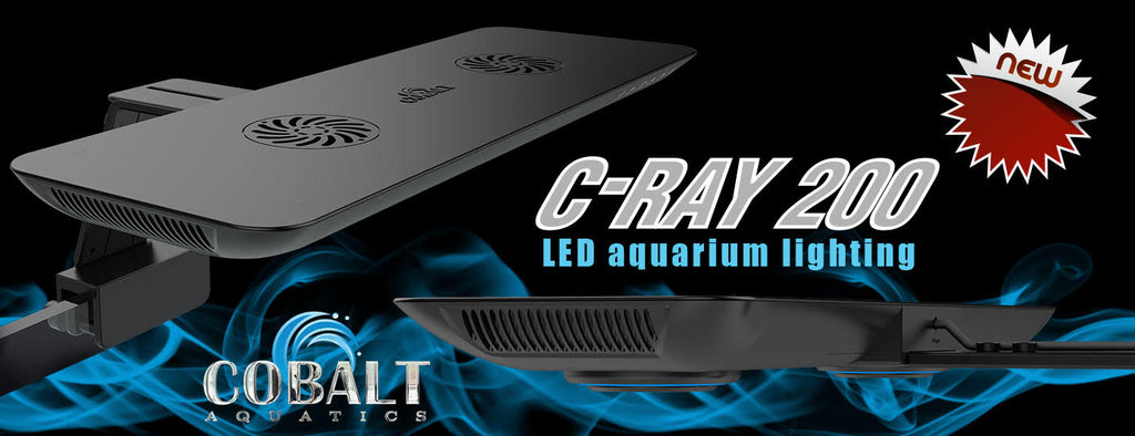 Cobalt Aquatics C-Ray 200 LED aquarium lighting