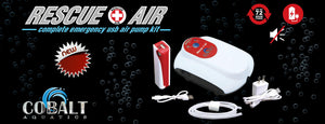 Cobalt Aquatics Rescue Air Battery Powered Air Pump